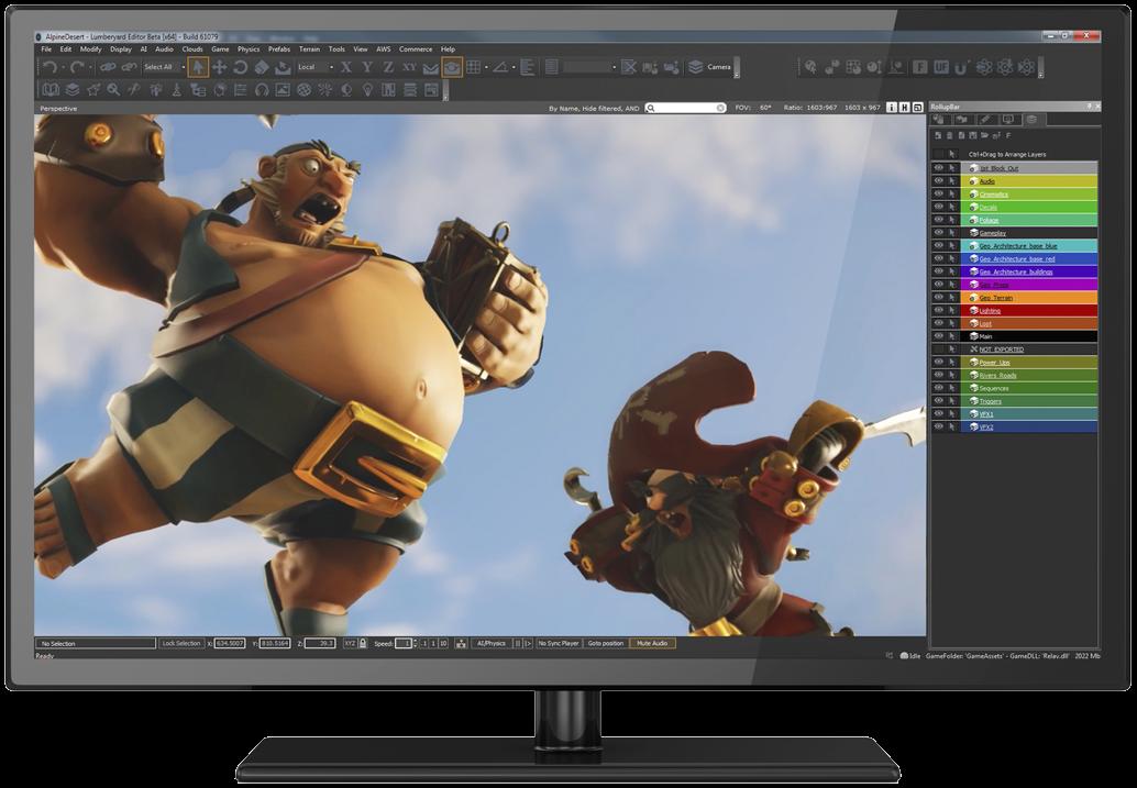 Amazon makes game engine Lumberyard based on CryEngine open